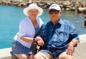 photo of grandparents